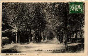 CPA Carteret - L'Allée des Douits (632853)