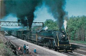 Allegheny Railroad #2102 & Cuyahoga Valley #4079 Double Hear at Derry PA, Chrom