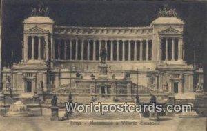 Monumento a Vittorio Emanuele Roma, Italy Unused