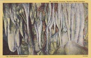 Linville Caverns Western North Carolina Curteich