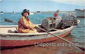 Lobsterman Fisherman Cape Cod, Massachusetts Postcard Post Card Cape Cod, Mas...