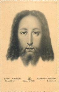 Head of Christ - Leonardio da Vinci Anvers cathedral Belgium