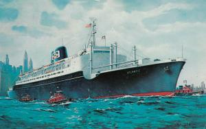 STEAMSHIP S.S. ATLANTIC , 50-60s