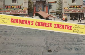 HOLLYWOOD , California , 1950-60s ; Grauman's Chinese Theatre