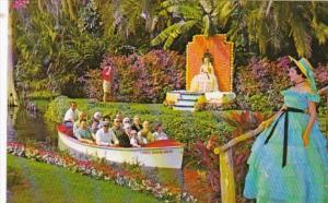 Florida Cypress Gardens Throne Of Citrus Royalty