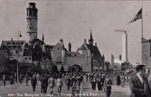 The Belgian Village Chicago World's Fair 1933