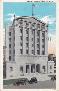 LANSING , Michigan, 1910s-20s ; Masonic Temple
