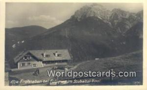 Stubaital Tirol Austria, Österreich Alpe Frohneben bie Fulpmes Stubaital Tir...