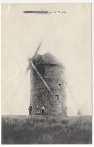 France; Mont Des Cats, The Mill PPC Unposted, Note Censors Mark