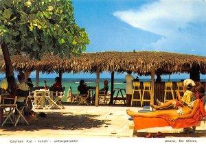 Grand Cayman Islands Post card Old Vintage Antique Postcard Cayman Kai Lunch ...