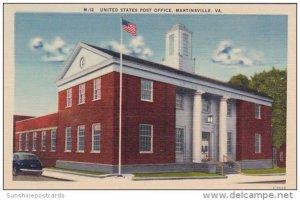 United States Post Office Martinsville Virginia