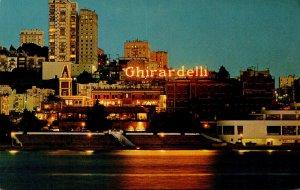 California San Francisco Ghirardelli Square At Night