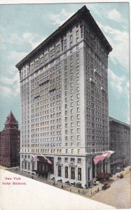 NEW YORK CITY, New York, 1900-1910s; Hotel Belmont