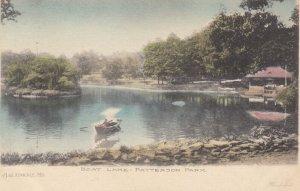 BALTIMORE , Maryland , 1901-07 ; Boat Lake - Patterson Park
