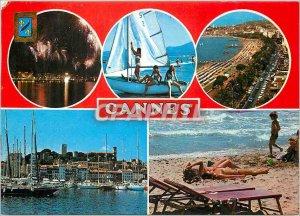Modern Postcard Souvenir de Cannes