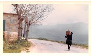 Ehdeu, Lebanon Postcard, Carte Postale Highway from Tripoli to Cedars, non po...