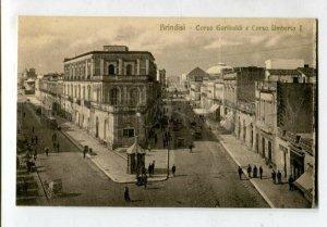 3131437 ITALY Brindisi Coso Garibaldi Vintage postcard