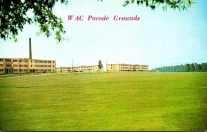 Alabama Anniston Fort McClellan Women Army Corps Parade Grounds and Living Qu...