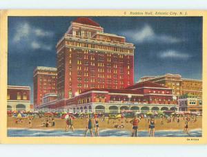 Linen HADDON HALL HOTEL Atlantic City New Jersey NJ Q7175