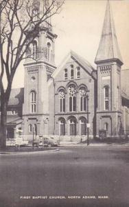 Massachusetts North Adams First Baptist Church
