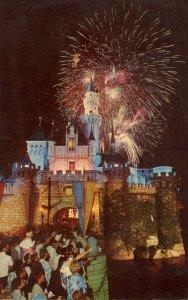 CA - Anaheim. Disneyland. Disneyland Castle, Fireworks