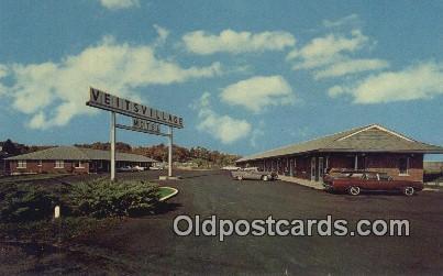 Veit's Village Motel, Jefferson City, MO, USA Motel Hotel Postcard Post Card ...