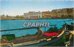 Modern Postcard Bizerte (Tunisia) - The Old Port Boat