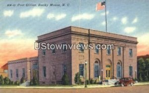 Post Office in Rocky Mount, North Carolina