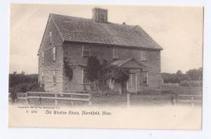 Old Winslow House Marshfield MA Rock Rotograph 1905