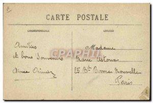 Postcard Old Tram Boulogne sur Mer Quai Gambetta