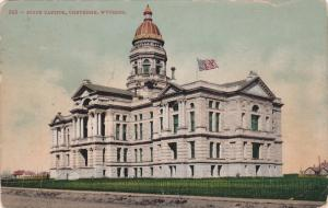 Exterior,  State Capitol,  Cheyenne,  Wyoming,  PU_1914