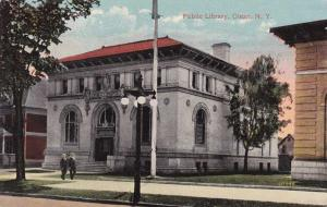 The Public Library at Olean NY, New York - DB