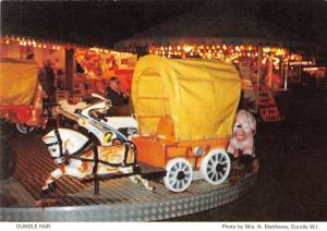 B100622 oundle fair amusement park  uk