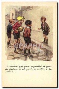 Old Postcard Fantasy Illustrator Poulbot