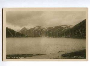 126581 NORWAY Parti fra BYGDIN Vintage photo postcard