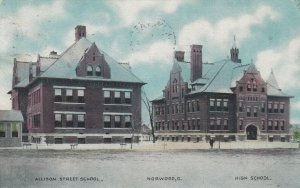 NORWOOD, Ohio, 1911; Allison Street School & High School