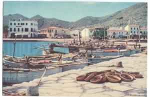 Spain, Mallorca, Pollensa, Port, Harbour, unused Postcard