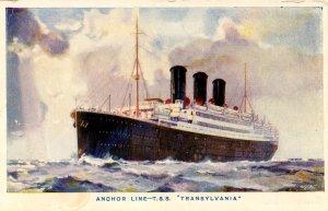 Anchor Line - TSS Transylvania