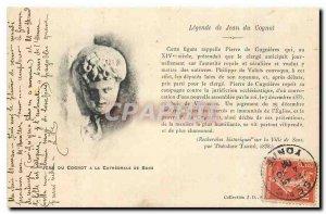 Old Postcard of John Legend has Cognot Sens Cathedral of John the Cognot