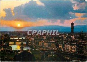 Postcard Modern Firenze View (Sunset)