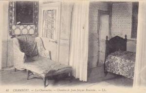 Interior, Chambre De Jean-Jacques Rousseau, Chambery (Savoie), France, 1900-1...