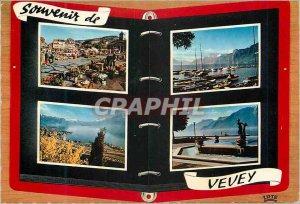 Modern Postcard Souvenir de Vevey