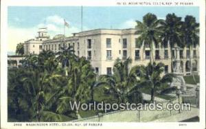 Panama Republic of Panama Hotel Washington