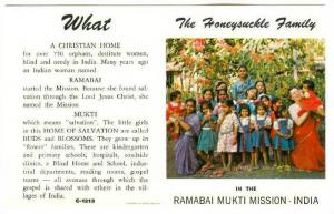 The Honeysuckle Family in the Ramabai Mukti Mission, India, 40-60s