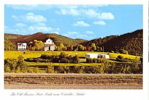 Old Mission State Park - Cataldo, Idaho