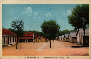CPA Mailly le Camp- Baraquements FRANCE (1007467)