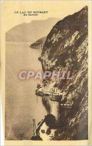 Postcard Old Lake Bourget in Savoy