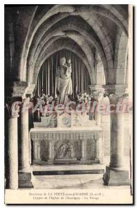 Old Postcard Around La Ferte sous Jouarre S and M Crypt of the Church of the ...