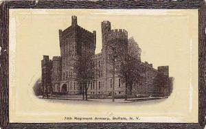 Exterior, 74th Regiment Armory, Buffalo, New York, 00-10s