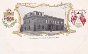 MACLEOD, Alberta, Canada, 1900-1910's; Union Bank & Grier Block